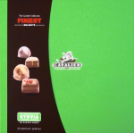 Cavalier Finest Delights Chocolates with Stevia 200g gift box