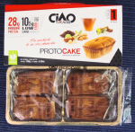 CiaoCarb ProtoCakes box of 4 CLEARANCE Best Before 30 April 2017